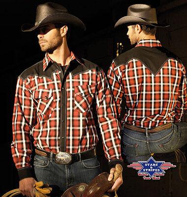 "Westernhemd Country Cowboy Western Hemd ""Jayden"" Gr. S - 3XL"