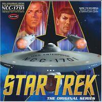 Polar Lights 938/04 1/350 Star Trek Tos Enterprise 50th Anniversary Kit on Sale