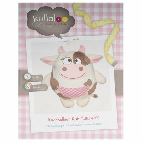 "tamaños Kullaloo irse a vaca /""laurella/"" 2 dif nähanleitung"