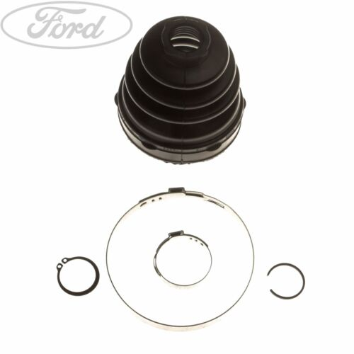VW POLO 1.6 TDi DRIVE SHAFT HUB NUT /& CV JOINT OUTER BOOT KIT 2009/>ONWARDS