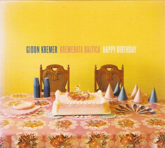 Gidon Kremer, Kremerata Baltica - Happy Birthday (CD 2002) Card Slipcase
