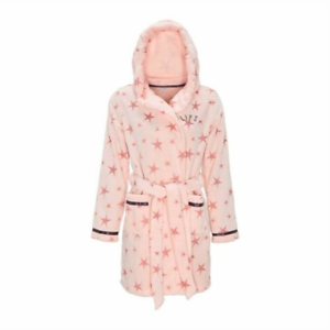 Avon-Pink-Lipsy-London-14-16Star-Print-Robe-Dressing-Gown-Warm-Soft-new-packaged