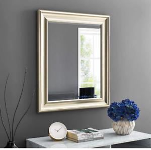 Large Wall Mirror Bathroom Vanity Bedroom Lounge Rectangle 3ft Gold Frame New Ebay