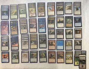 MTG-Cards-Rare-SLIVER-Deck-100-w-Dragon-Sleeves-amp-Deck-Box-MAKE-ME-AN-OFFER