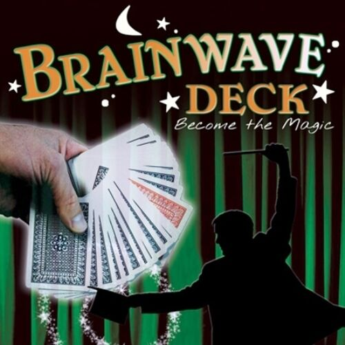 Brainwave Deck Poker Size - Classic Magic Trick Playing Cards -Fun & Easy to Do