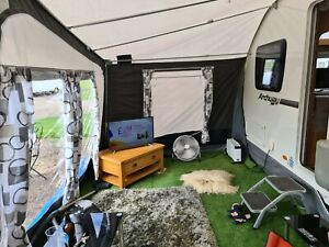 Starcamp Dakota Seasonal Awning Size 14 975-1000 25mm ...