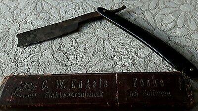 GemäßIgt Altes Rasiermesser Engels