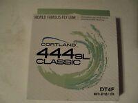 1- Box Cortland 444 Sl Classic Dt-4-f Fly Line (nip)