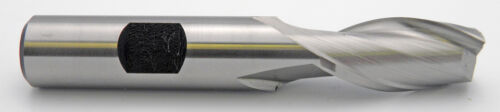 "13//16/"" LOC 2 Flute Single End HSS End Mill Toolmex #5-300-060 15//32/"" Diameter"