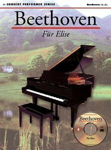 Details about Beethoven: Fur Elise Sheet Music Concert Performer Series  Book with di 014011945