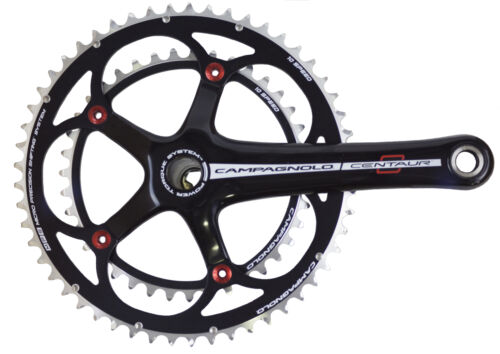 CAMPAGNOLO CENTAUR Black//Red Power-Torque 10 Vitesses Double Compact 34//50-172.5 mm