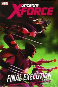 UNCANNY X-FORCE PREM HC BOOK 01 FINAL EXECUTION MARVEL COMICS FACTORY SEALED NEW