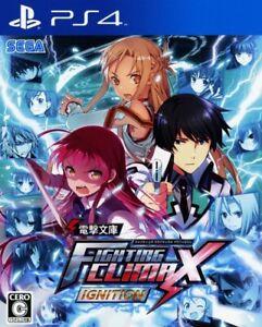 PS4 Dengeki Bunko Fighting Climax Ignition Persona Sony PlayStation 4