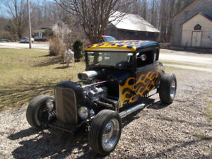 Model A 5 window coupe