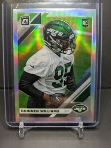 2019-Optic-Quinnen-Williams-Rookie-Holo-Refractor-RC-SP-Jets