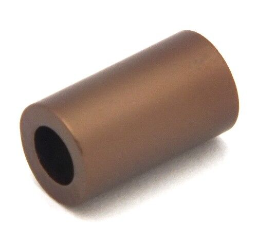 1 Loxalu® Beads Röhrchen ca 10 x 6mm braun
