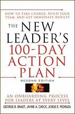 The New Leader's 100-Day Action Plan: How to Take Charge, Build Your-ExLibrary