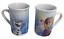 miniature 1 - Lot of 2 Disney Frozen Anna Elsa & Olaf Hot Chocolate Coffee Tea Cups Mugs 2016