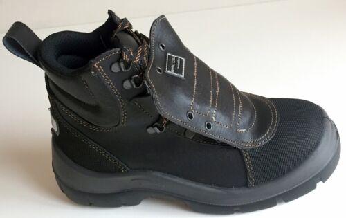 Unisexe Honeywell Metaflex Bottes de sécurité chaussures Noir Taille UK 6 To 7 Bottes de sécurité