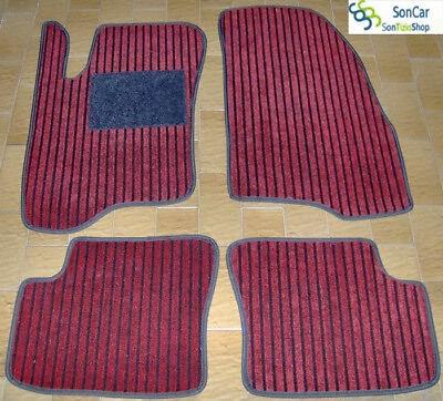 4 block FIAT GRANDE PUNTO TAPPETI tappetini AUTO 1cm