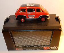 BRUMM ITALY FIAT 600 MULTIPLA COMMERCIALE RAMAZZOTI 1960 1/43 REF R286 IN BOX