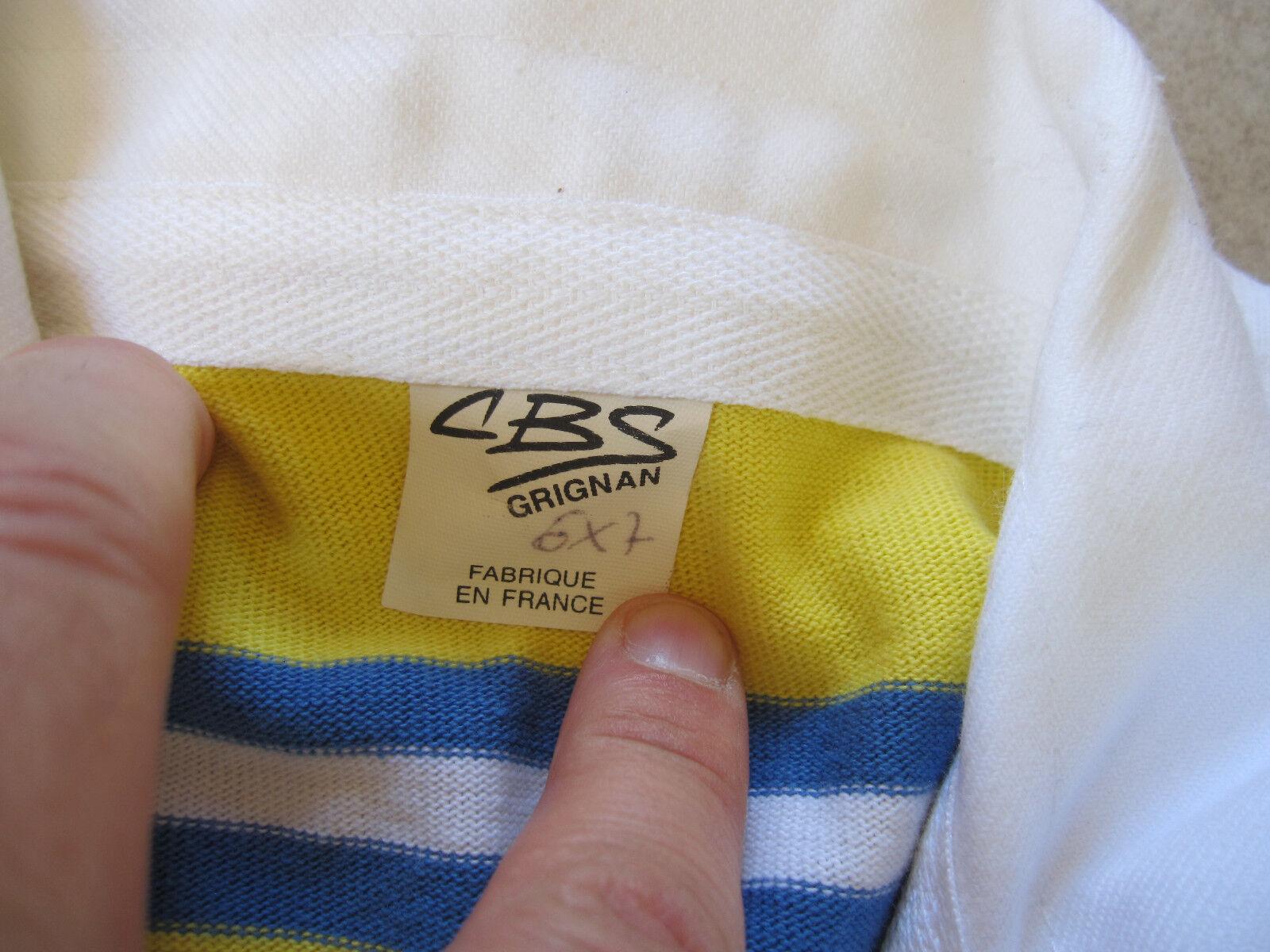 Maillot Vintage rugby Club Hyerois RCH Hyeres CBS Vintage Maillot Jersey - XL b7da3e