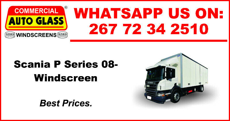 Windscreen For Scania P Series 2008 For Sale.