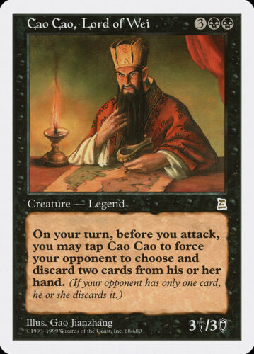 R Lord of Wei FREE US SHIPPING! MTG X1: Cao Cao P3K Light Play