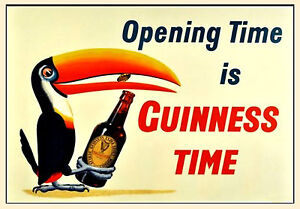 Lovely Day for A Guinness Retro Vintage Alcohol Bar Pub Posters #34 A3