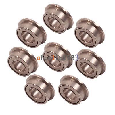 3mmX6mmX2.5mm IT 10PCS MF63zz Mini Metal Double Shielded Flanged Ball Bearings