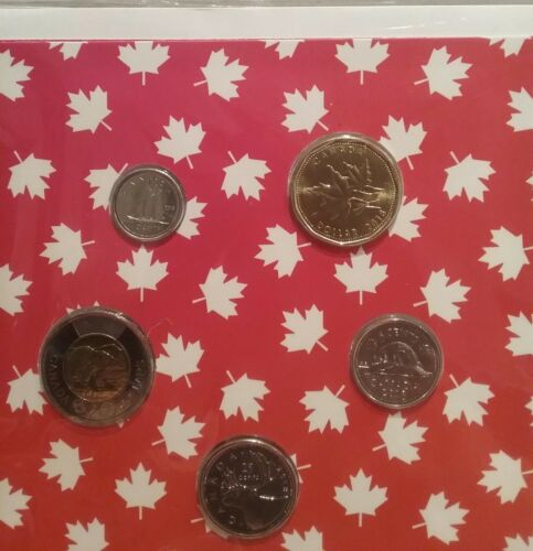 $1 10cent /& The South-West Beaver 25cent 2018 O-Canada Gift 5-Coins Set: $2