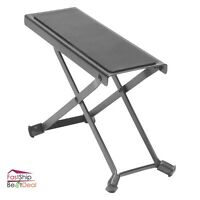 Guitar Foot Rest Stool Folding Height Adjustable Lightweight Musicians Travel
