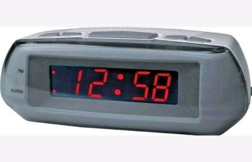 Acctim Metizo Mains Electric Red LED Display Loud Digital Alarm Clock