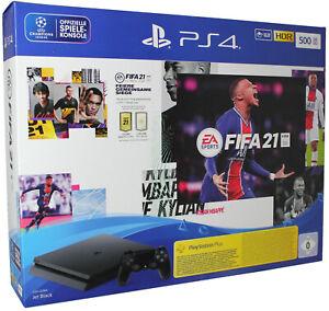 PlayStation 4 PS4 500gb Konsole + FIFA 21