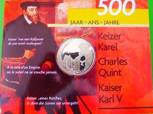 Belgica, 500 Francos Belgas, 2000. Plata. Haute RéSilience