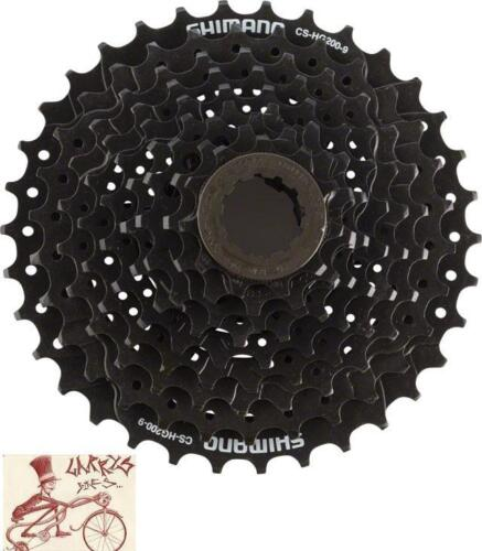 SHIMANO CS-HG200 HYPERGLIDE 7 SPEED---12-28T BLACK MTB BICYCLE CASSETTE