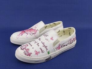 Details zu GOBY Schuhe Ballerinas Slipper Damenschuhe Halbschuhe Sneakers Weiß bunt Gr.39