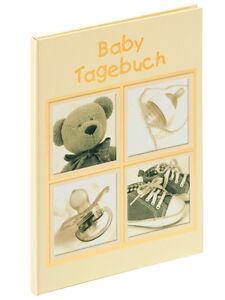 Baby-Tagebuch-Sweet-Things-beige-gold-20-cm-x-28-cm