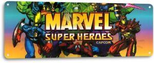 Marvel-Super-Heroes-Classic-Capcom-Arcade-Marquee-Game-Room-Decor-Metal-Tin-Sign