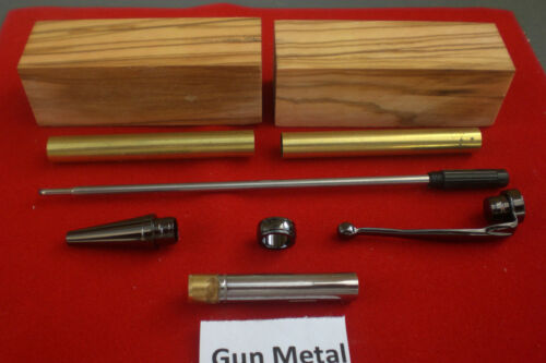 Kits de pluma de engorda en metal de arma con espacios en blanco de Oliva perforado