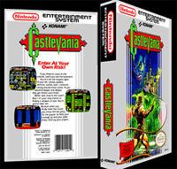 Castlevania 1 - Nes Reproduction Art Case/box No Game.