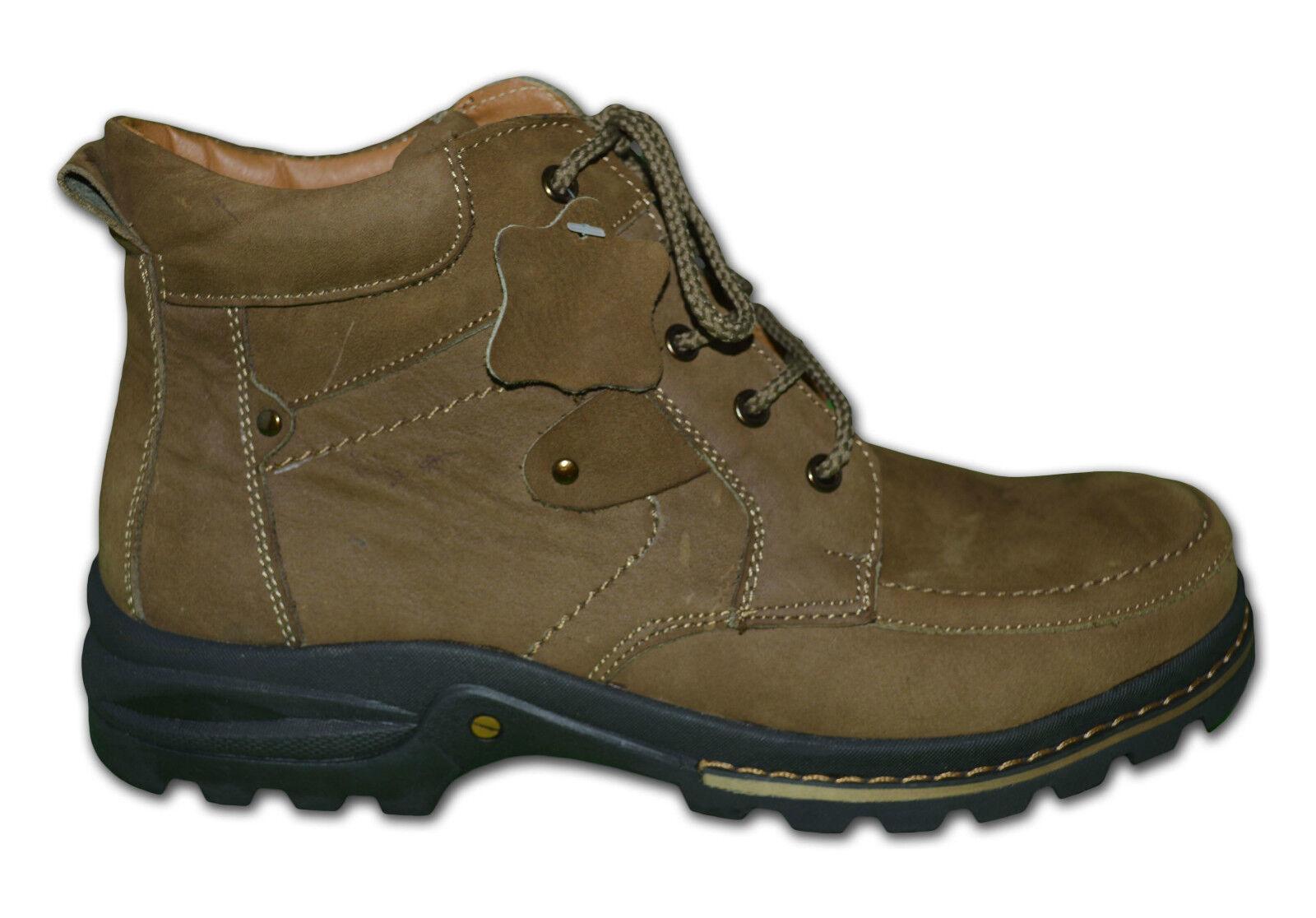 qualité couleur Hommes Bottes cuir, couleur qualité marron & PLAGE , taille au R-U 11 46281a