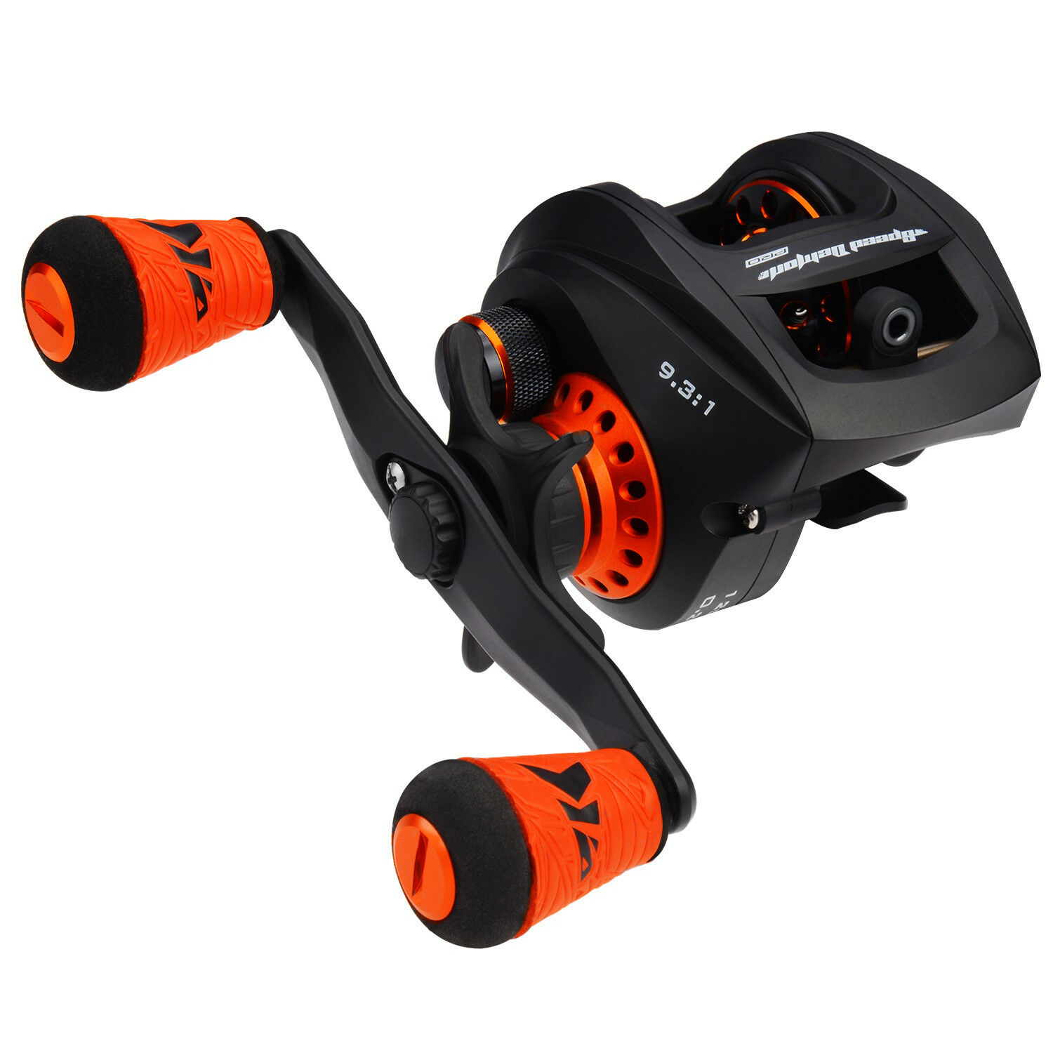 KastKing  Speed Demon Pro Baitcasting Reels 9.3 1 High Speed Reel - Right-Handed  free shipping & exchanges.