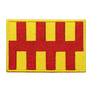 Northumberland County Flag Patch Iron On Patch Sew On Badge Embroidered Patch
