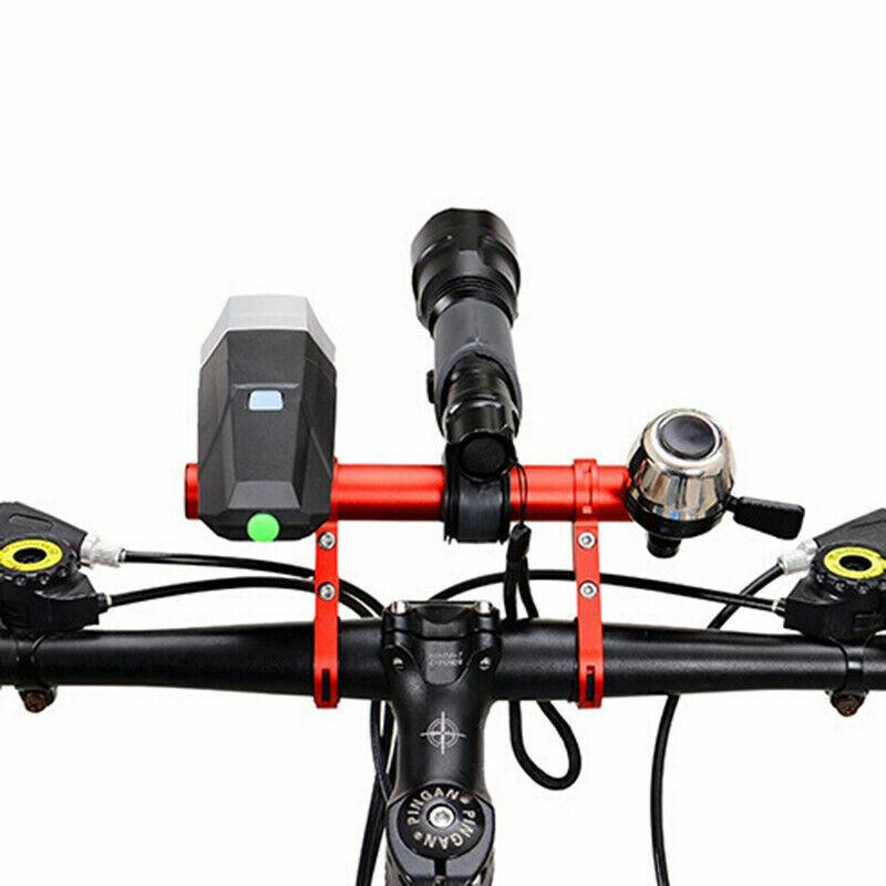 Bike Flashlight Holder Handlebar Bicycle Part Extender Mount Bracket For GOPRO
