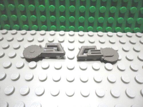 Lego mini figure 2 Classic Dark Gray circular saw tool town city