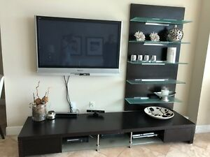 Wall Mount Tv Stand Media Console