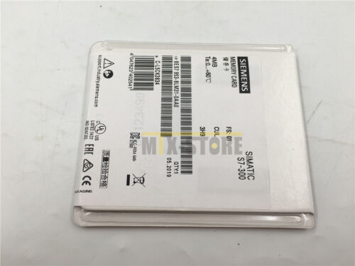 Details about  /1PCS Unopened New Siemens MEMORY CARD 6ES7 953-8LM31-0AA0 NIB 6ES7953-8LM31-0AA0
