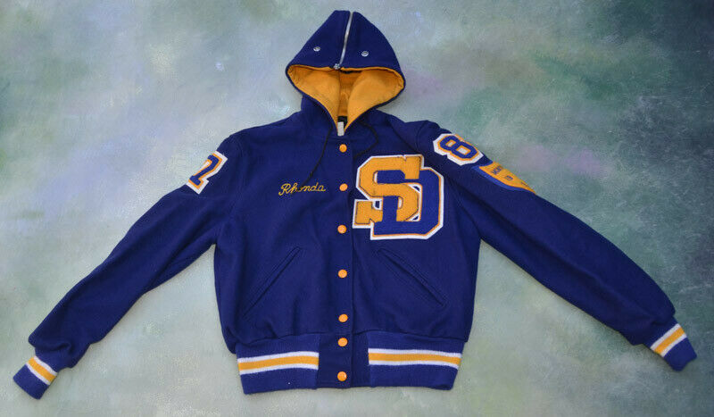 Vintage DeLong Varsity Jacket Montview League 1986 Champions__SEE PICTURES.