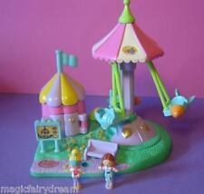 Polly Pocket Mini ♥ avión carrusel ♥ Rocket Ride ♥ 100% complete ♥ 1996 ♥